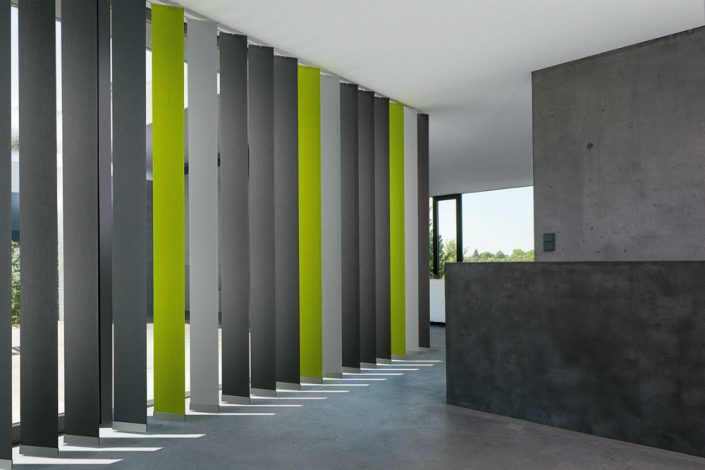 Vertikal-Jalousien Heinrich Innenausstattung